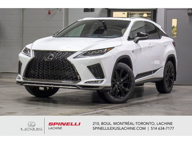 Lexus RX 350 BLACK LINE AWD; CUIR TOIT GPS ANGLES MORT LSS 2021