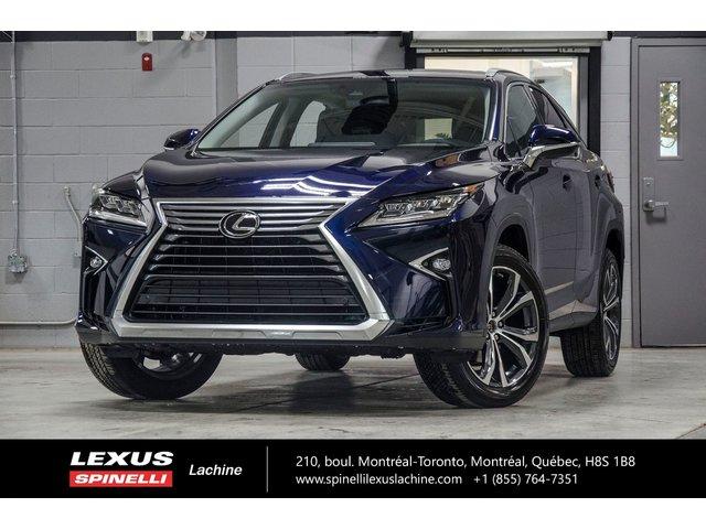 Lexus RX 350 LUXE AWD; CUIR TOIT GPS LSS+ 2018