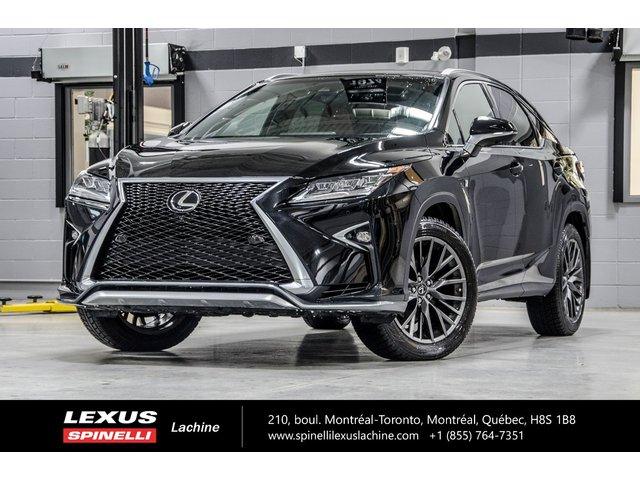 Lexus RX 350 F SPORT III AWD; CUIR AUDIO TOIT PANO GPS LSS 2018