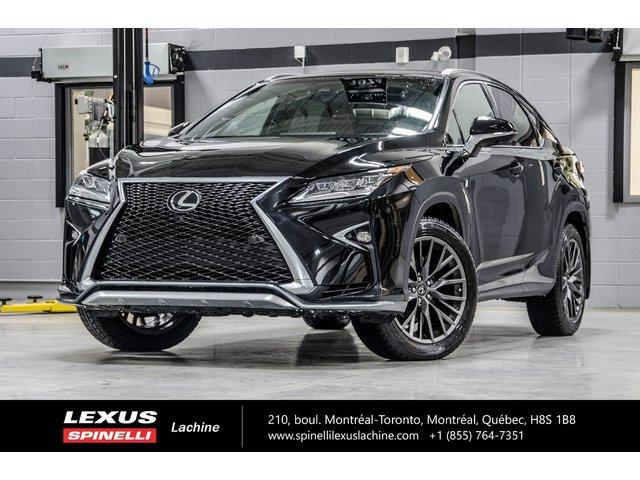 Lexus RX 350 F SPORT III AWD; CUIR TOIT PANO GPS AUDIO LSS 2019