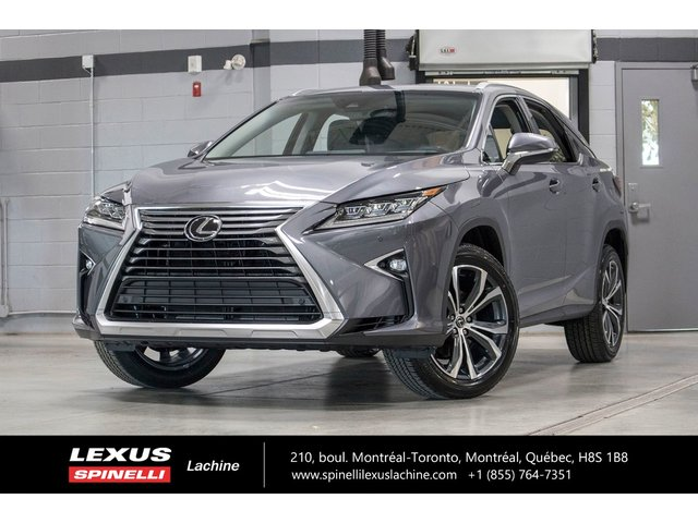 Lexus RX 350 LUXE AWD; CUIR TOIT GPS ANGLES MORTS LSS+ 2019