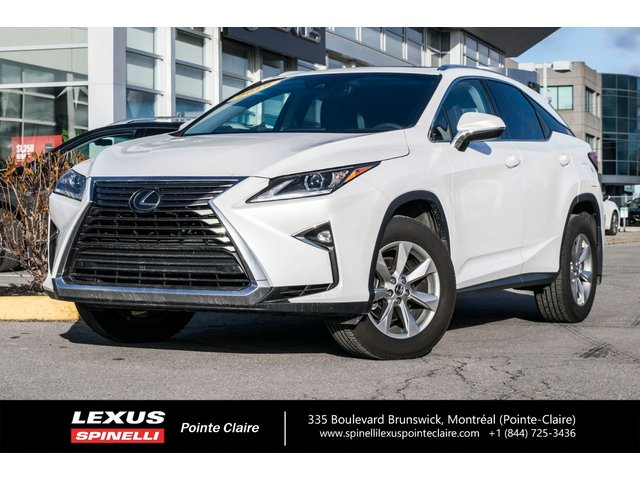 Lexus RX 350 AWD PREMIUM PACKAGE, LEATHER AND ROOF, BACK U 2019