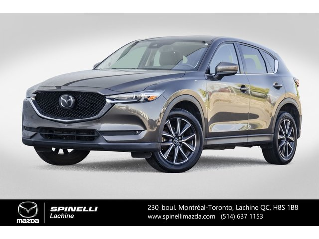 Mazda CX-5 GT AWD GPS Cuir Toit Ouvrant Sieges Chauffant 2017
