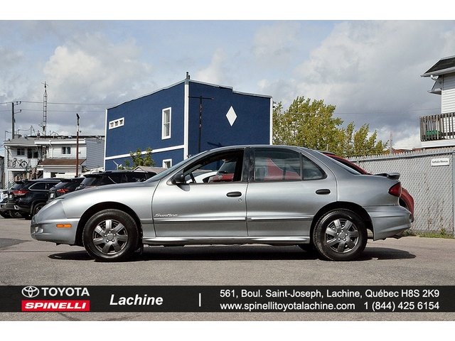 Pontiac Sunfire SLX AIR CRUISE 8 PNEUS ET++ 2003
