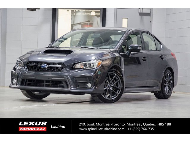 Subaru WRX SPORT-TECH AWD; CUIR TOIT GPS ANGLES MORT AUD 2019