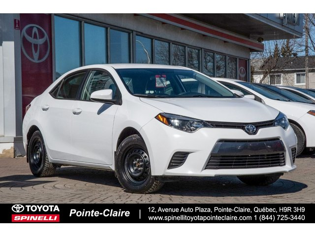 Toyota Pointe Claire >> Gold Series Used Car Inventory For Spinelli Toyota Pointe Claire