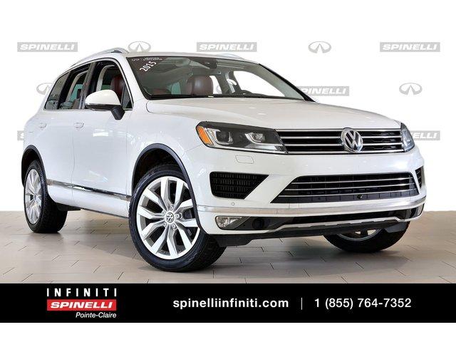 Volkswagen Touareg TDI EXECLINE BRUN INTERIEUR 2015