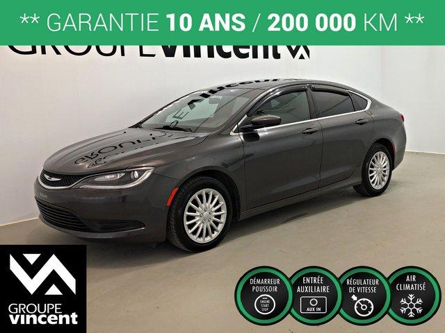 Chrysler 200 LX ** GARANTIE 10 ANS ** 2015