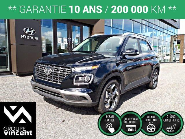 Hyundai Venue Ultimate w/Black Interior ** GARANTIE 10 ANS  2020