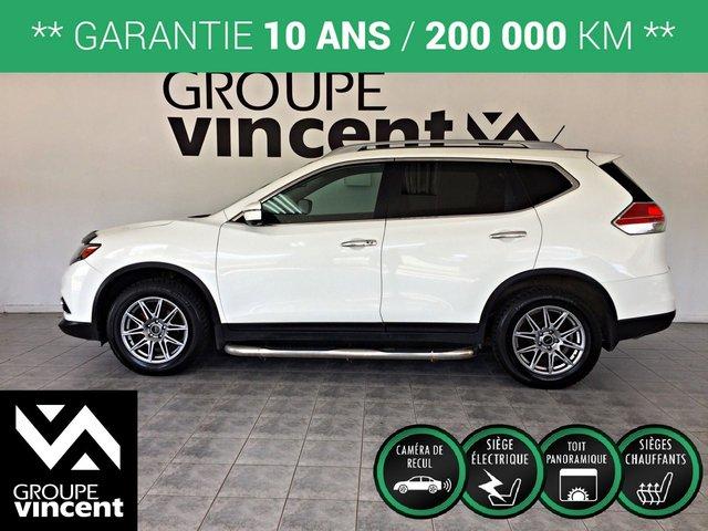 Nissan Rogue SL AWD GPS CUIR TOIT** GARANTIE 10 ANS ** 2016
