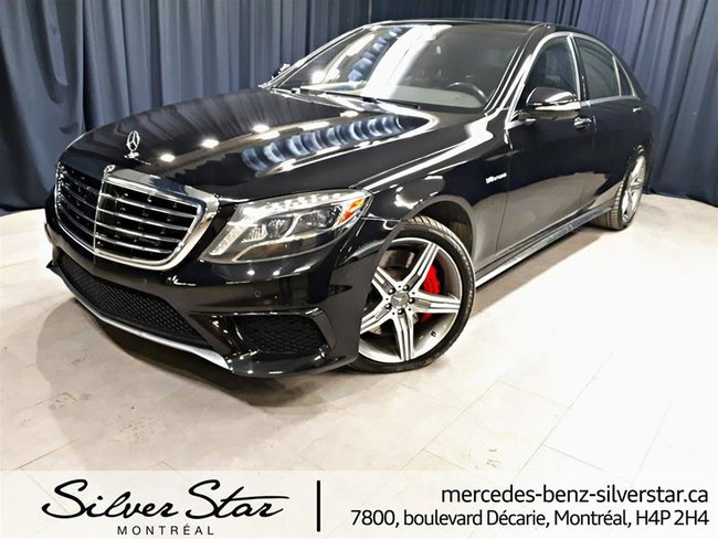 2014 Mercedes-Benz S63 AMG 4MATIC Sedan