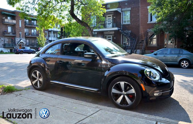 Essai routier de la Volkswagen Beetle Sportline 2014 d'occasion