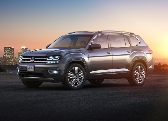 2017 Honda Pilot Touring VS 2018 VW Atlas Execline 3.6 FSI in Blainville