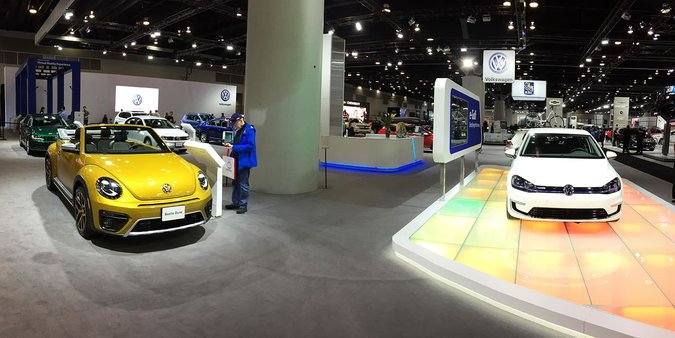 Through the eyes of Cowell Volkswagen: Vancouver International Auto Show