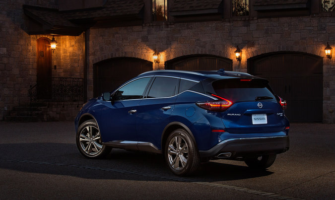 2019 Nissan Murano bows at the 2018 Los Angeles Auto Show