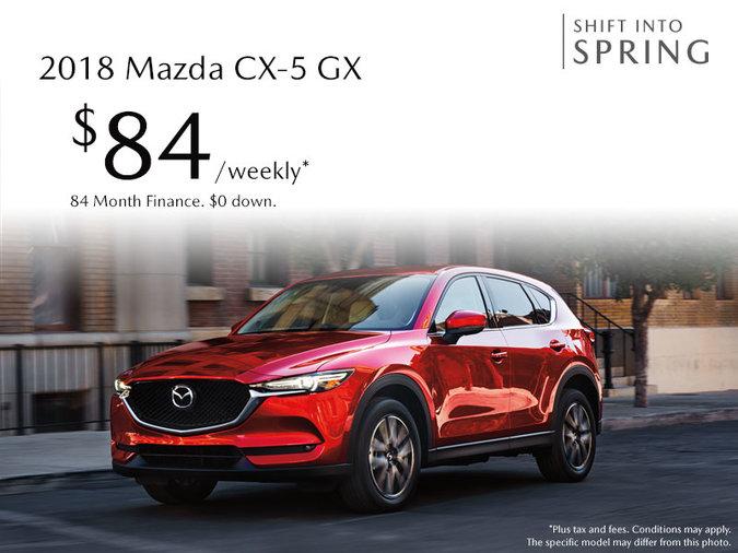 Atlantic Mazda - 2018 Mazda CX-5 GX - Just $84 Weekly