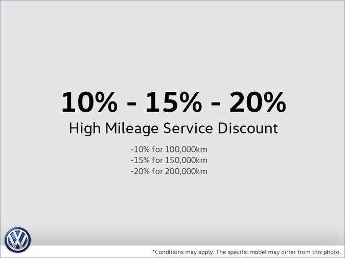 10% - 15% - 20% High Mileage Service Discount