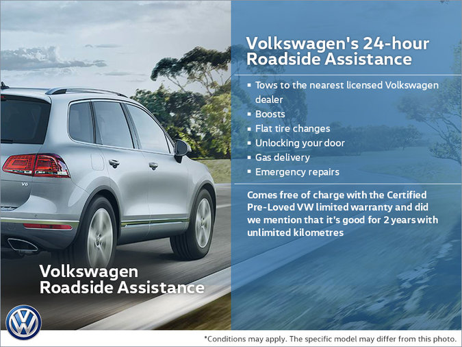 Volkswagen's 24-hour Roadside Assistance