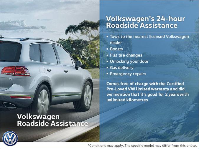 Volkswagen's 24-hour Roadside Assistance | Volkswagen Lauzon St-Eustache