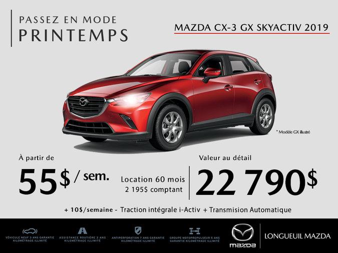 Mazda CX-3 2019 - Promotion