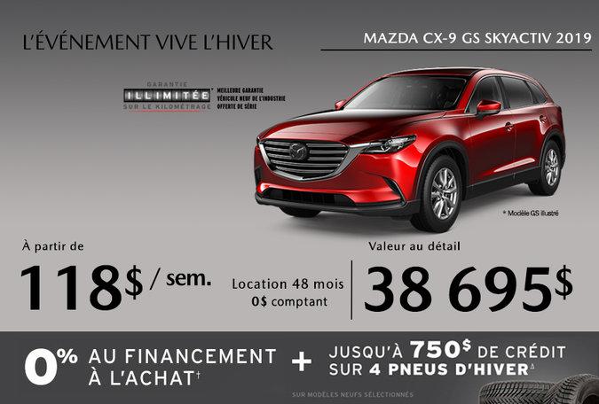Mazda CX-9 2019 - Promotion