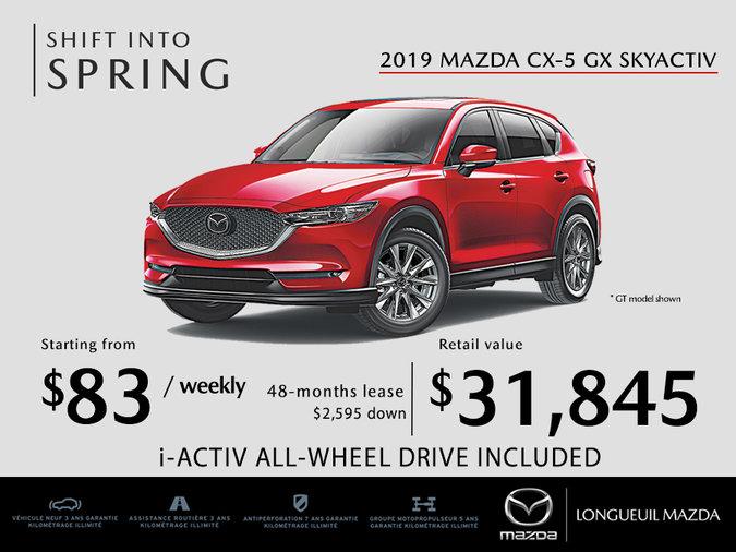2019 Mazda CX-5 - Promotion