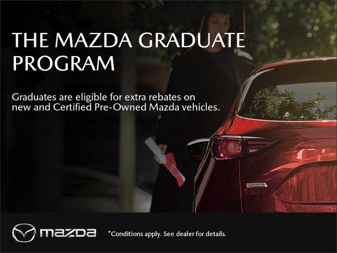 Gerry Gordon's Mazda - The Mazda Graduate Program