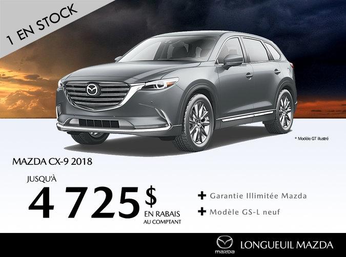2018 Mazda CX-9- Promotion
