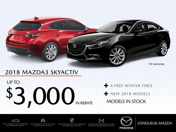 2018 Mazda3 - Promotion