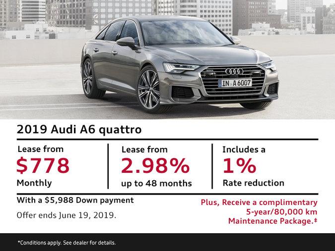 2019 Audi A6 quattro - Summer of Audi Sales Event