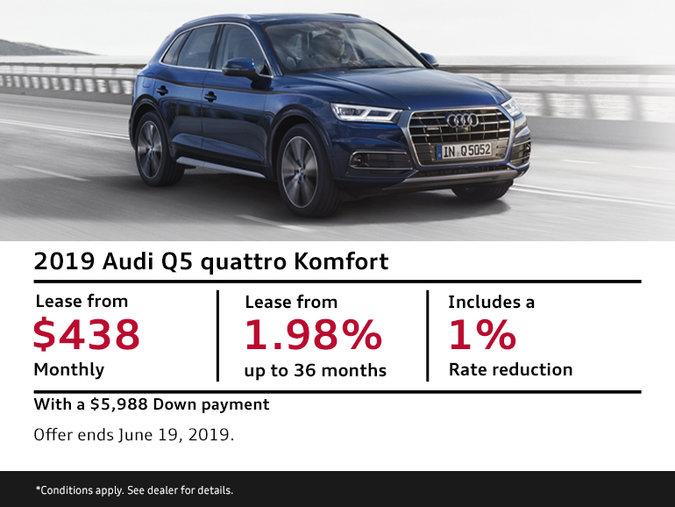 2019 Audi Q5 quattro Komfort - Summer of Audi Sales Event