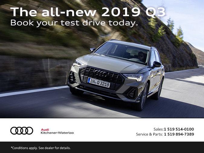 Test Drive the Q3