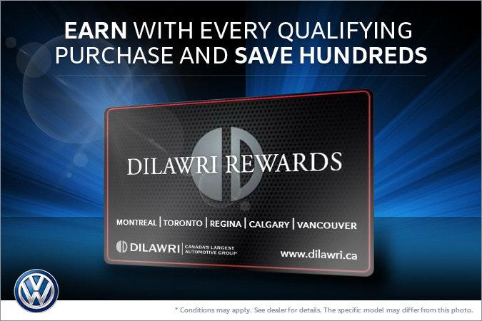 Save Hundreds with the Dilawri Rewards Card!