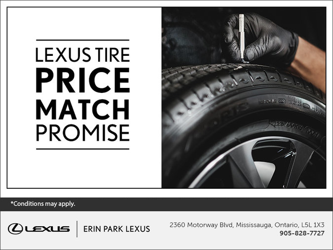 The Lexus Price Match Promise
