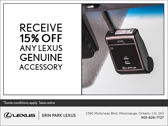Lexus Genuine Accessory Promo