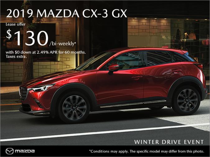 Coastline Mazda - Get the new 2019 Mazda CX-3 today!