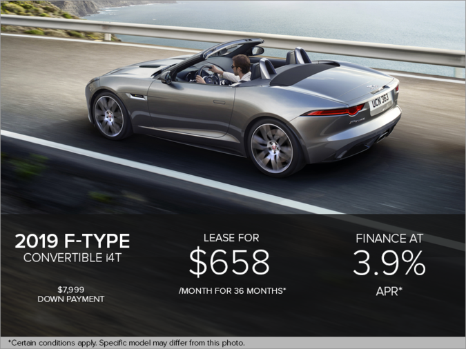 The 2019 F-Type Convertible i4T