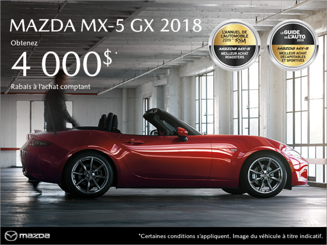 Mazda Repentigny - Procurez-vous la Mazda MX-5 2018!