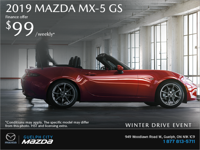 Guelph City Mazda - Get the 2019 Mazda MX-5 Today!
