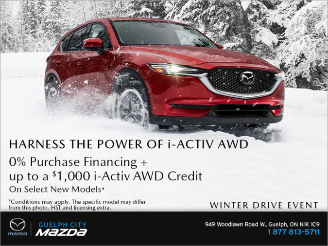 Guelph City Mazda - Mazda Winter Drive Event!