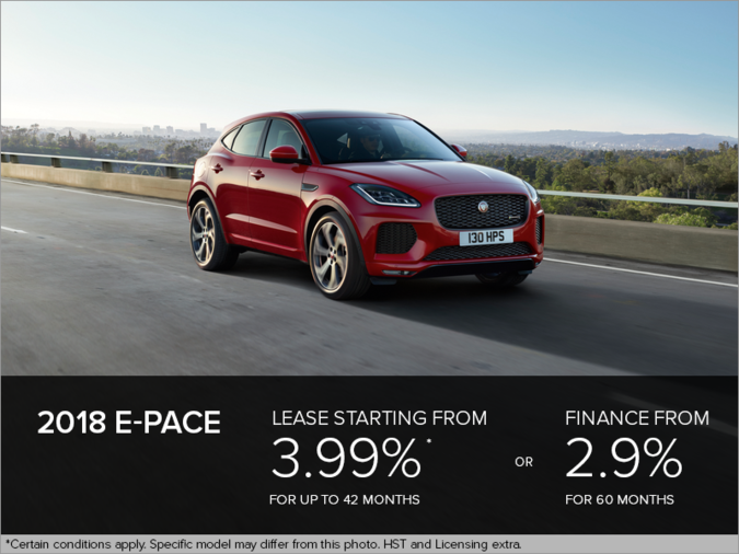 The 2018 E-PACE
