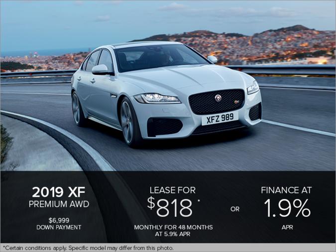 The 2019 Jaguar XF Premium AWD