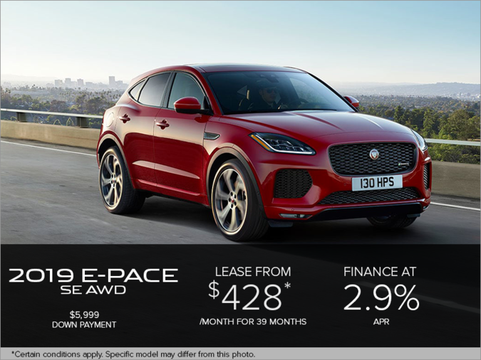 The 2019 Jaguar E-PACE SE AWD