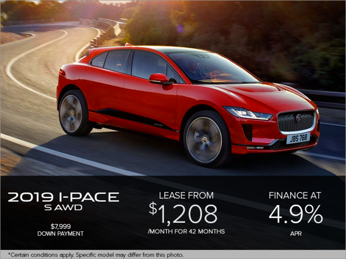 The 2019 Jaguar I-PACE S