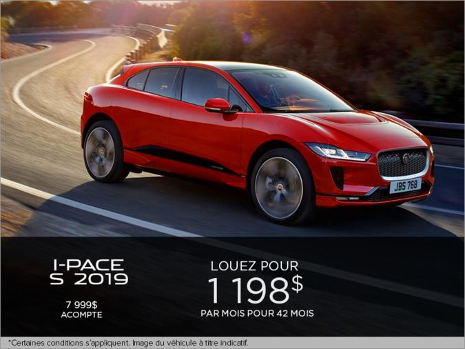 Le Jaguar I-PACE S 2019