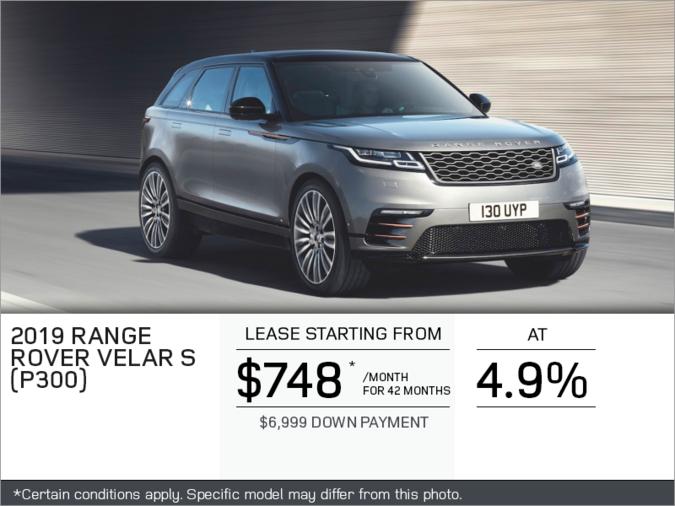 The 2019 Range Rover Velar