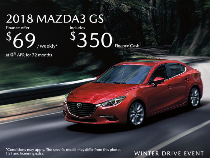 Chatham Mazda - Get the 2018 Mazda3 Today!