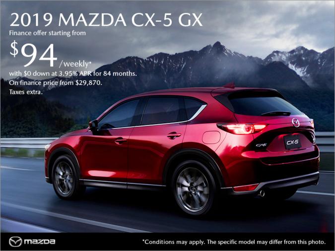 VIP Mazda - Get the 2019 Mazda CX-5 today!