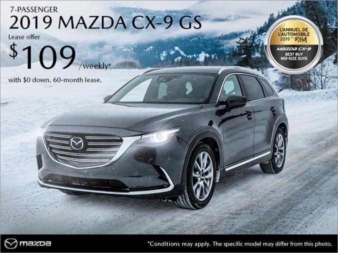 Mazda Gabriel St-Jacques - Get the 2019 Mazda CX-9!