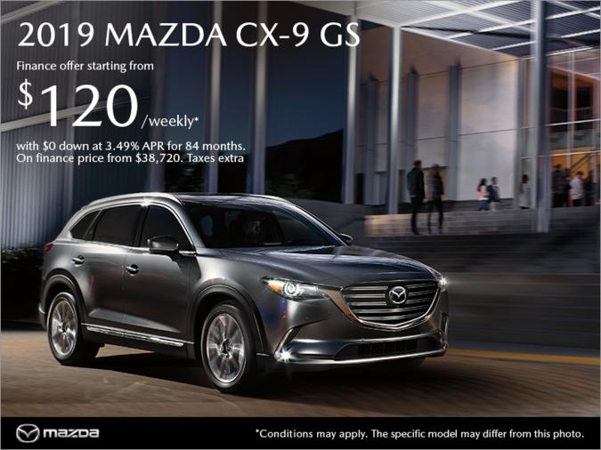VIP Mazda - Get the 2019 Mazda CX-9 today!